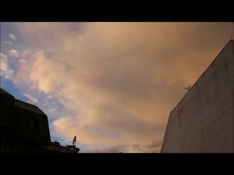 Golden clouds time lapse renew HD