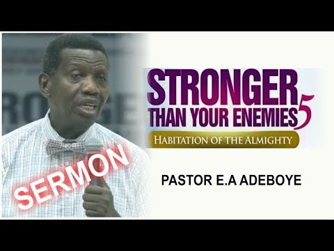 Pastor E.A Adeboye Sermon @ RCCG May 2018 HOLY GHOST SERVICE