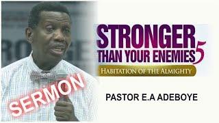 pastor ea adeboye sermon rccg may 2018 holy ghost service