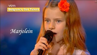 Marjolein Acke | Belgium's Got Talent [High Quality] - VTM | GOLDEN BUZZER