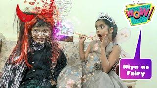 Niya dreams as fairy | Feeling Proud Indian Army | Wow kids funny #Magic | Niya and Aru Show
