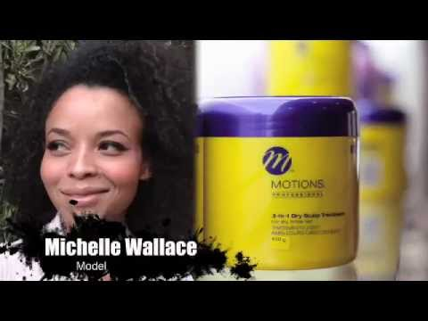 African models, hairstyles and fashion: Michelle Wallace on modeling and Motions hair care
