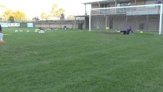 Uhlsport goalkeeper training