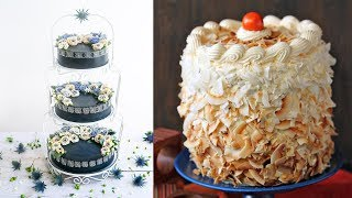 Best Satisfying Cake Decorating Compilation #92 💛 Most Amazing Cakes Styles & Ideas 2018