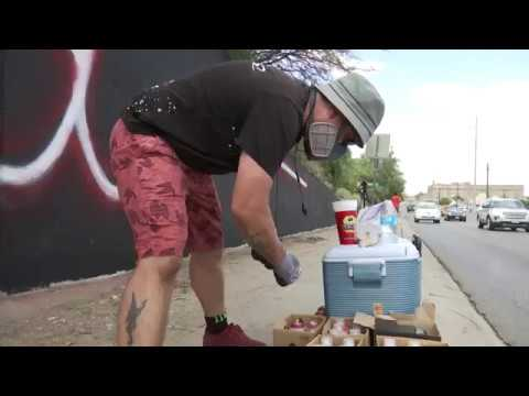 El Paso Strong: NY Artist Travels To El Paso To Paint Mural After Shooting