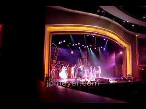 Evening onboard entertainment in La Scala theatre on Royal Caribbean Cruise Lines Voyager of the Seas