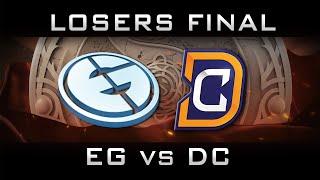 EG vs DC Losers Final The International 2016 TI6 Highlights Dota 2