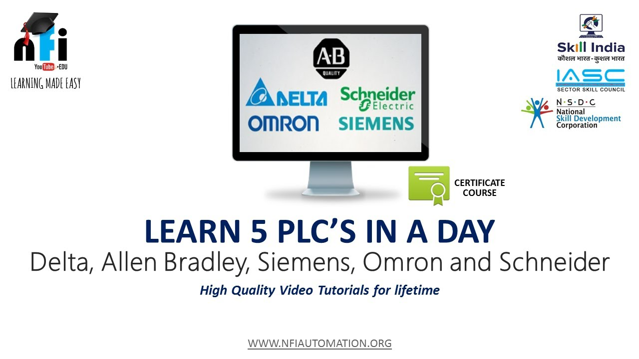 NFI: Learn 5 PLC's in a Day