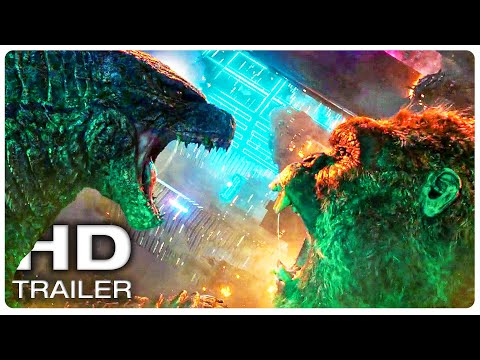 GODZILLA VS KONG Final Trailer (NEW 2021) Monster Movie HD