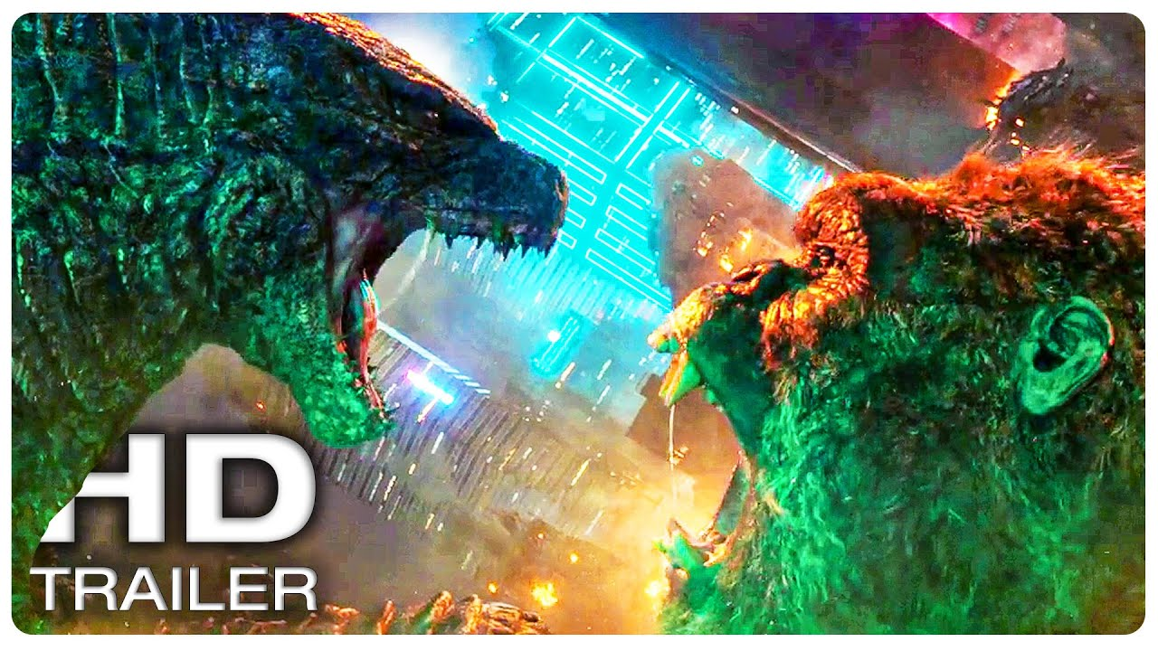 GODZILLA VS KONG Final Trailer (NEW 2021) Monster Movie HD