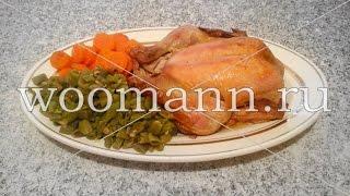 Курица в сметане запеченная в духовке
