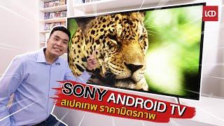 รีวิว Sony 4K Android TV รุ่นใหม่ สเปคเทพ ราคามิตรภาพ   55X8000H
