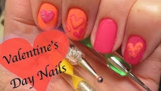 Heart Valentine's Nails Thumbnail