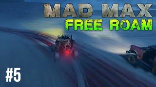 Mad Max Free Roam Gameplay #5 - Barrel Race (Mad Max Single Player Free Roam)