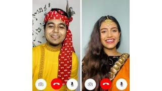 #virtualjam | Rahul & Ankita | Sorboto Mongolo Radhe x Radha Kaise Na Jale | Cover Song 2021