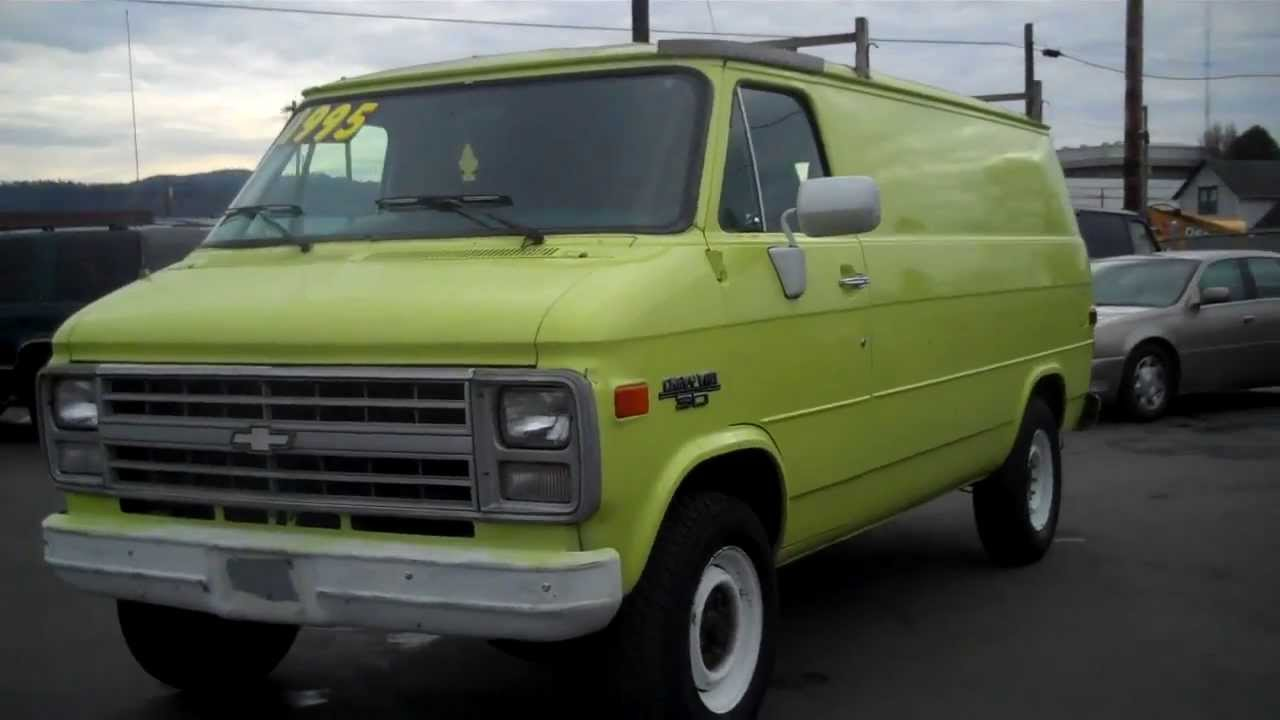 1990 Chevy G30 Sold