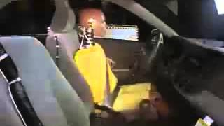 Vehicule  Crash Test 2002 - 2005 Toyota Camry _ Daihatsu Altis Side Impact without Side Airbags) IIH
