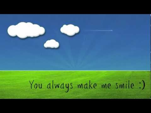You Always Make Me Smile Kyle Andrews W Lyrics Youtube