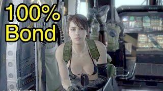 MGSV: Phantom Pain - Quiet in Copter 100% Bond (Metal Gear Solid 5)