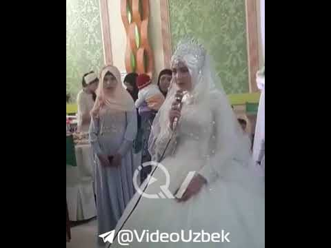 KELIN OZ TOYIDA ONASIGA SHER AYTDI