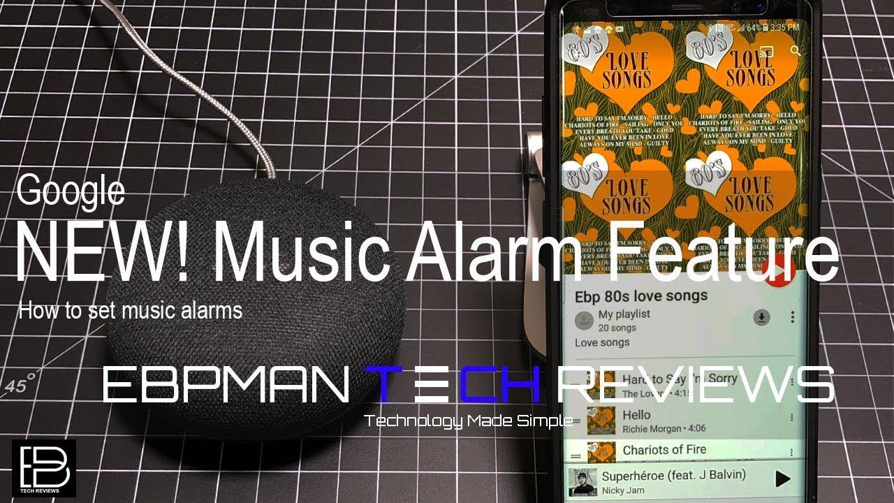 Google Home & Google Mini New Alarm Feature! How To Set