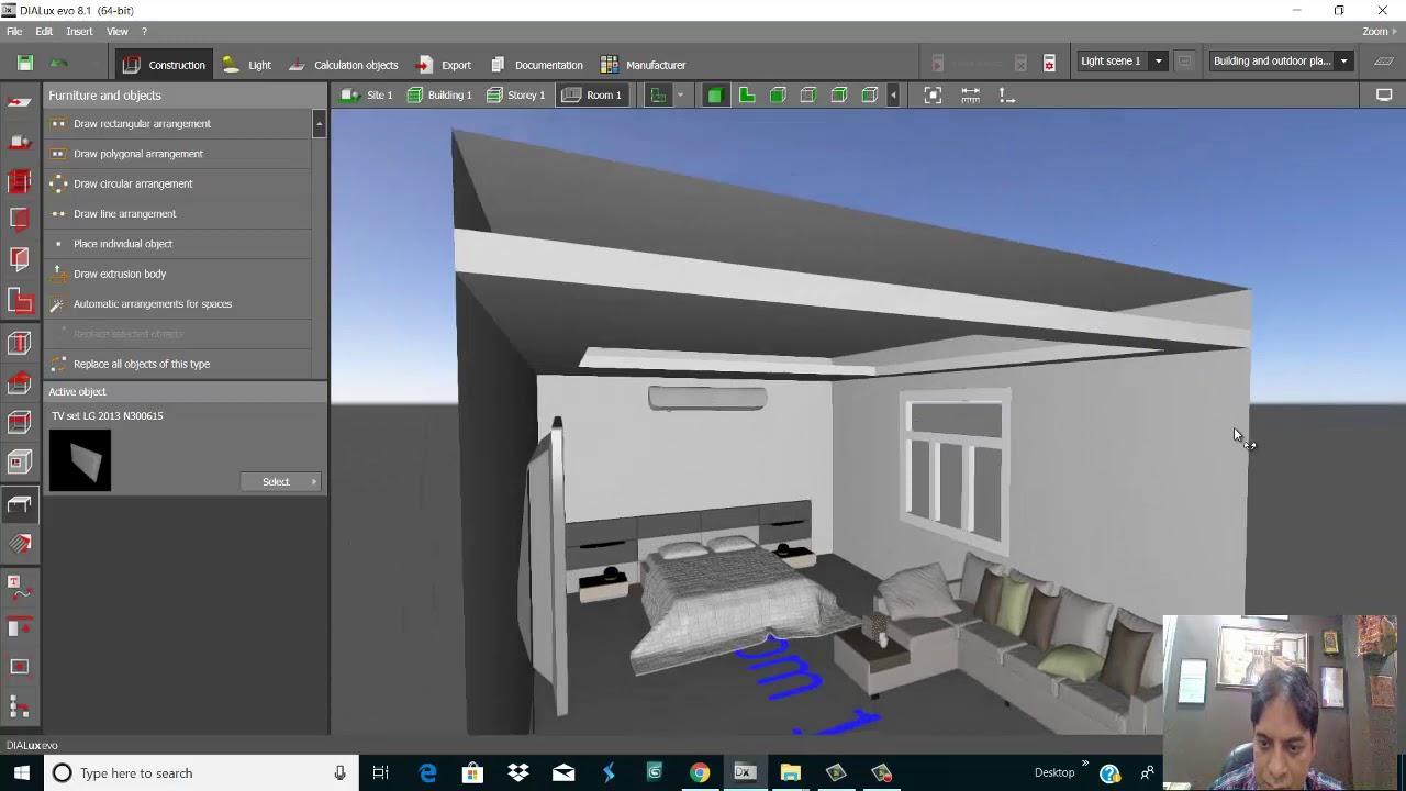 Dialux Evo 8 1 Interior Lighting Tutorial Part 1 Gemini Architectural Youtube