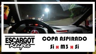 Receitas De Escargot - Civic Si x BMW M3 x Civic Si