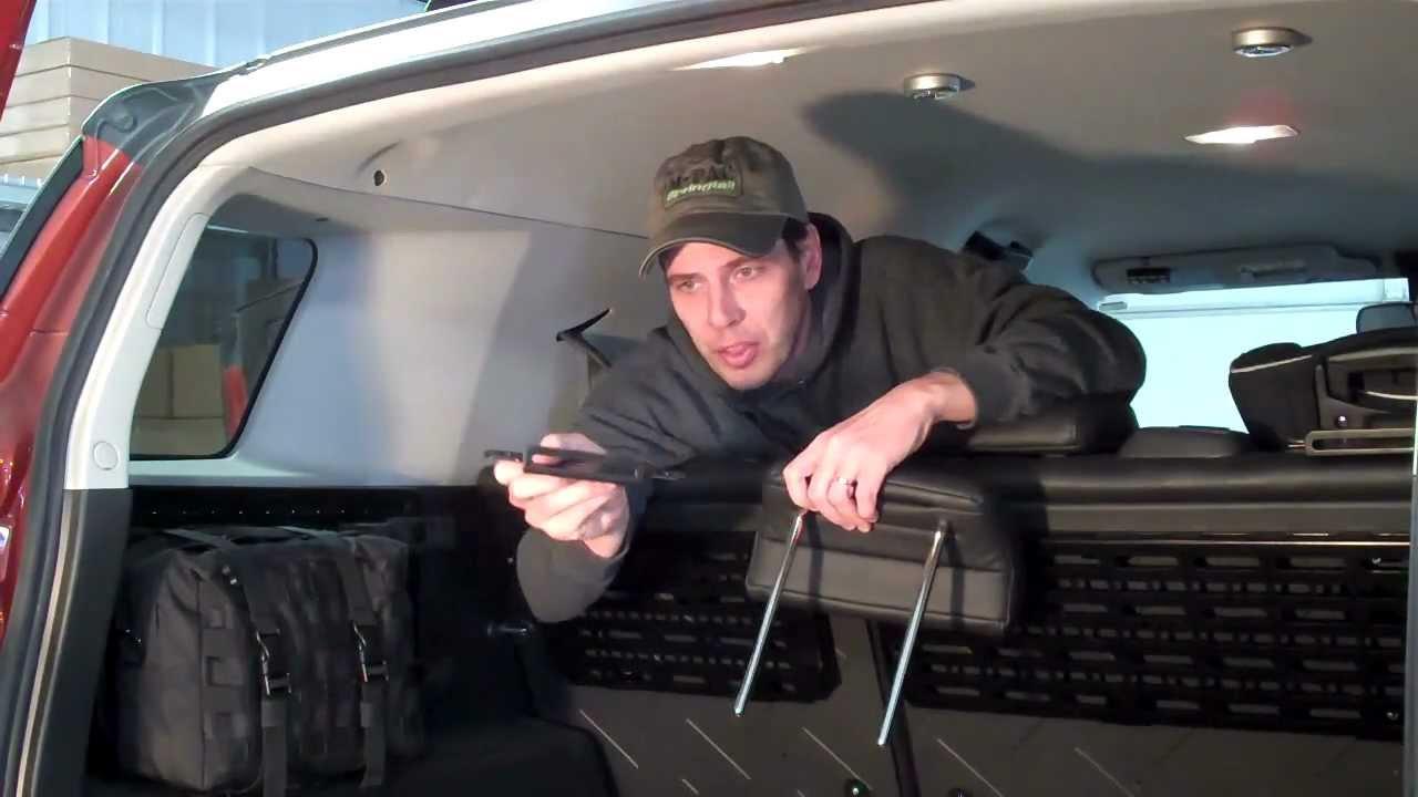 Springtail Mpac Fj Cargo Barrier Installation Youtube