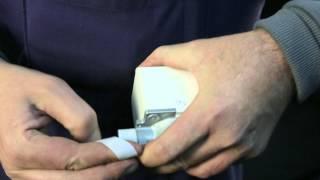 Монтаж бытового счетчика газа СГ 1Сгон с накидной гайкой(, 2013-12-10T03:37:00.000Z)
