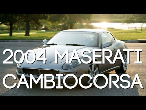 This Car Saved Maserati | 2004 Maserati Cambiocorsa [4K]