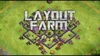 Layout Farm Cv7 Clash Of Clans