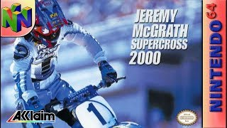 Longplay of Jeremy McGrath Supercross 2000