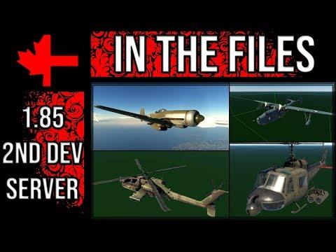 War Thunder - Dev Server Files - New Aircraft and Missiles w/ Bernard