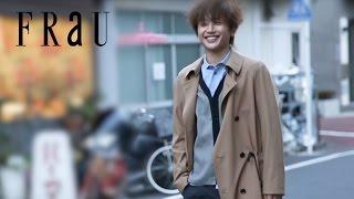 2017年3月11日発売、FRaU4月号プレミアム号「西島隆弘 スペシャル撮り...