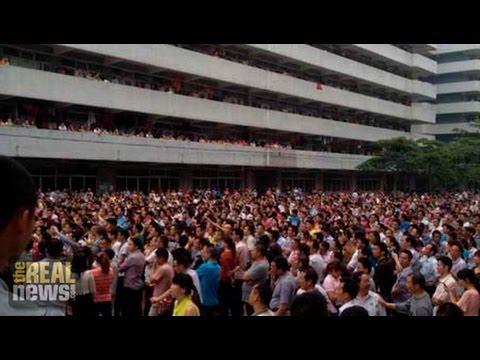 30,000 Chinese Factory Workers Strike Against Maker of Nike Sneakers