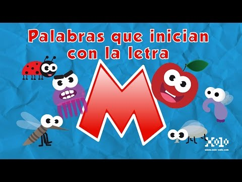 Learn Spanish words starting with the letter M - Videos Aprende