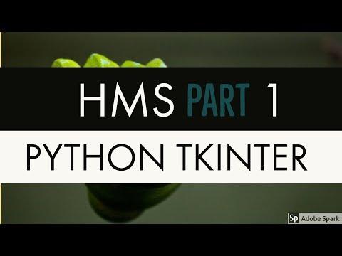 Hospital Management System With Database Using Python