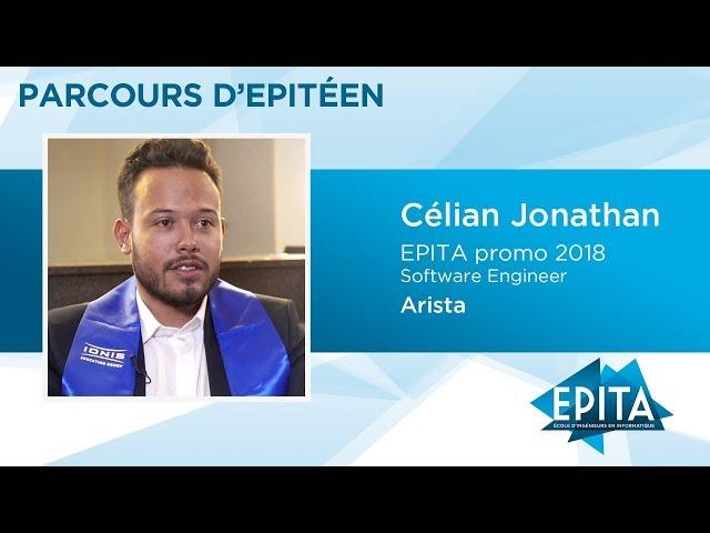 Parcours d'Epitéen - Célian Jonathan (promo 2018) - Arista