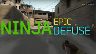 CS:GO - Epic Ninja Defuse