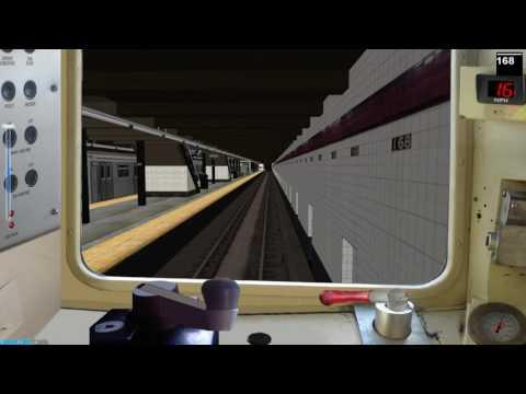 OpenBve NYCT (A) version 2.0 R68 207th St to Far Rockaway