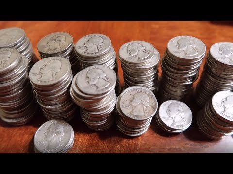 UPDATE: Results for My 1,600 Silver Quarters Order!