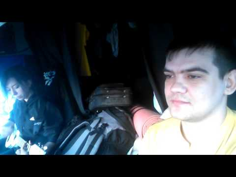 Дальнобой по России. Новосибирск - Екатеринбург. Живая музыка. Volvo fm truck 4x2