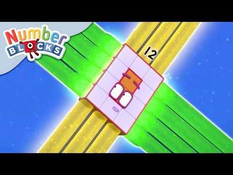 Numberblocks - Ride The Rays | Learn To Count