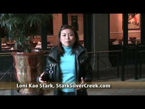 Santana Row And Blowfish Sushi In San Jose