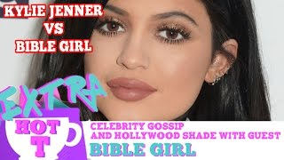 Kylie Jenner vs. Bible Girl LIP BATTLE!: Extra Hot T with Bible Girl