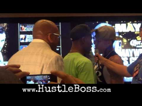 Things get heated between Gabriel Rosado and J'Leon Love/Leonard Ellerbe in Las Vegas