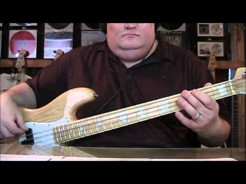 A Flock of Seagulls I Ran So Far Away Bass Cover with Notes and Tab