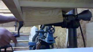 Drill Press Table Lift Video