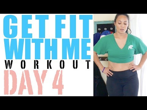 CARDIO WORKOUT | GET FIT WITH ME - DAY 4 HOME WORKOUT