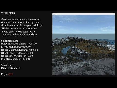 Skyrim VR Visual Noise Reduction Mod at Skyrim Special